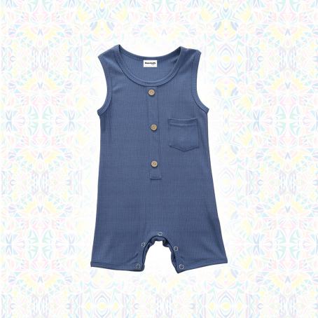 Combi short Ibou - Bleu