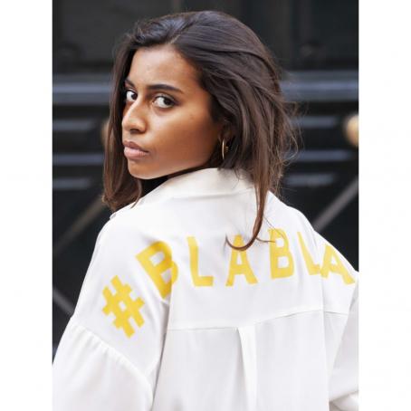 Tunique chemise Blabla - Blanc