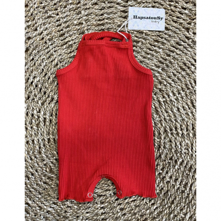 Combi short Tedo - Rouge