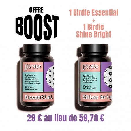 Offre Boost : Birdie Shine...