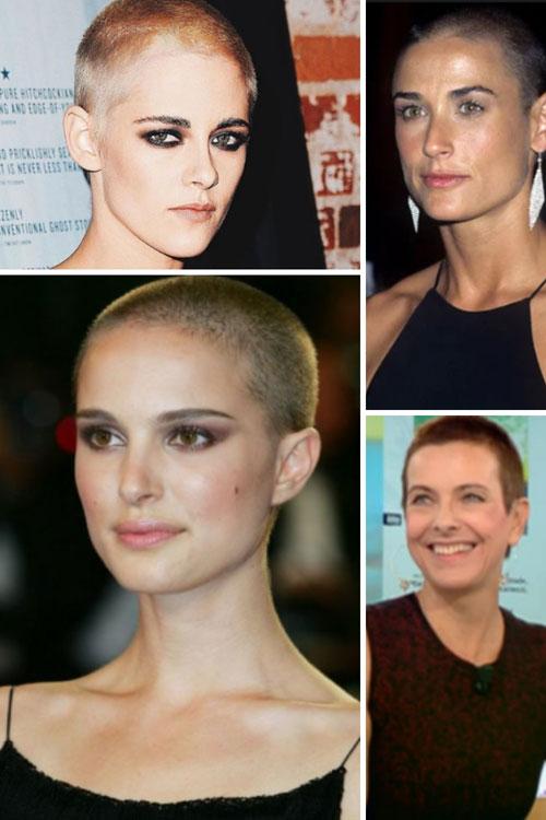 femmes rasées